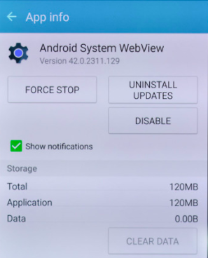 Android_WebView_Update_uninstall