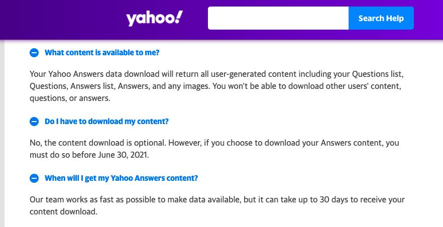 yahoo_answers_shut_down_download_Data