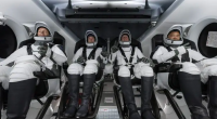 spacex-rocketship-launches-4-astronauts-on-nasa-mission-to-space