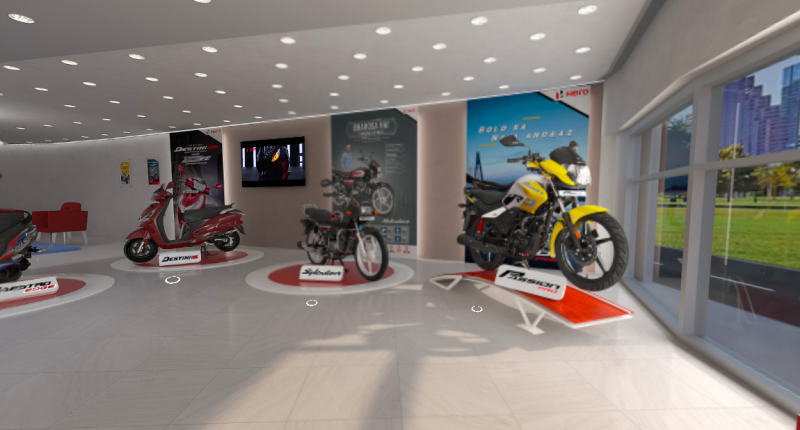 hero-motocorp-launches-virtual-showroom-know-how-to-use